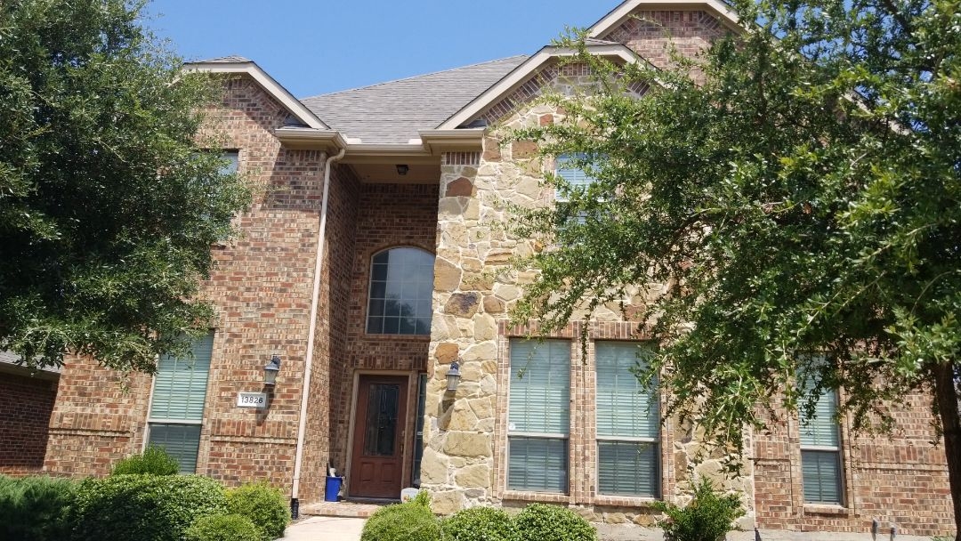 Frisco, TX - Complete roofing replacement. Installed GAF timberline HD weather would 30 year shingle