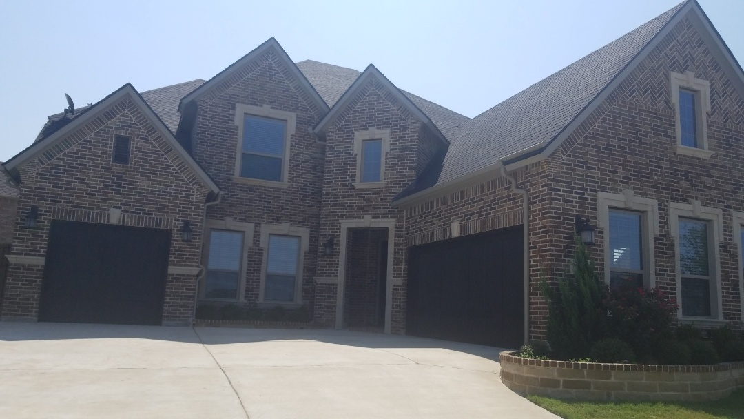 Allen, TX - Complete roofing replacement. Installed GAF timberline HD charcoal 30 year warranted single