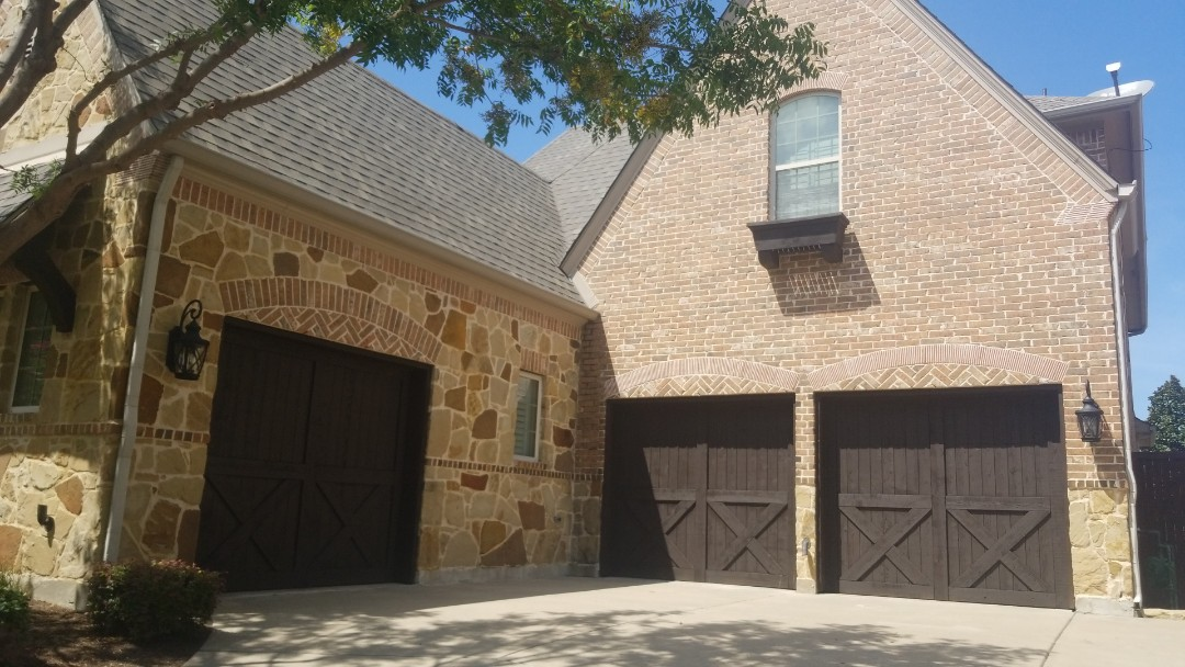 Frisco, TX - Complete roofing replacement. Install GAF timberline HD weathered wood shingle 30 year warranty