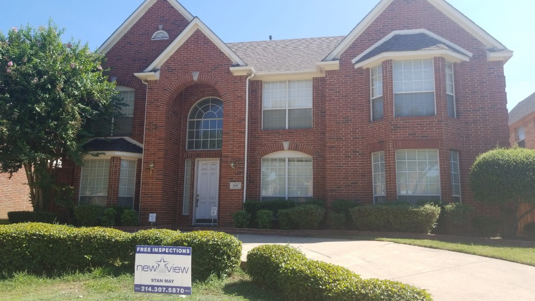 Carrollton, TX - Complete roofing replacement. Installed GAF timberline HD weathered wood 30 year single