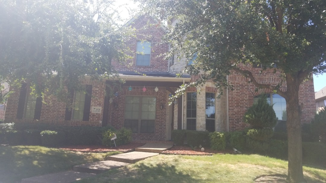Carrollton, TX - Complete roofing replacement. Installed GAF timberline HD   Charcoal 30 year shingle