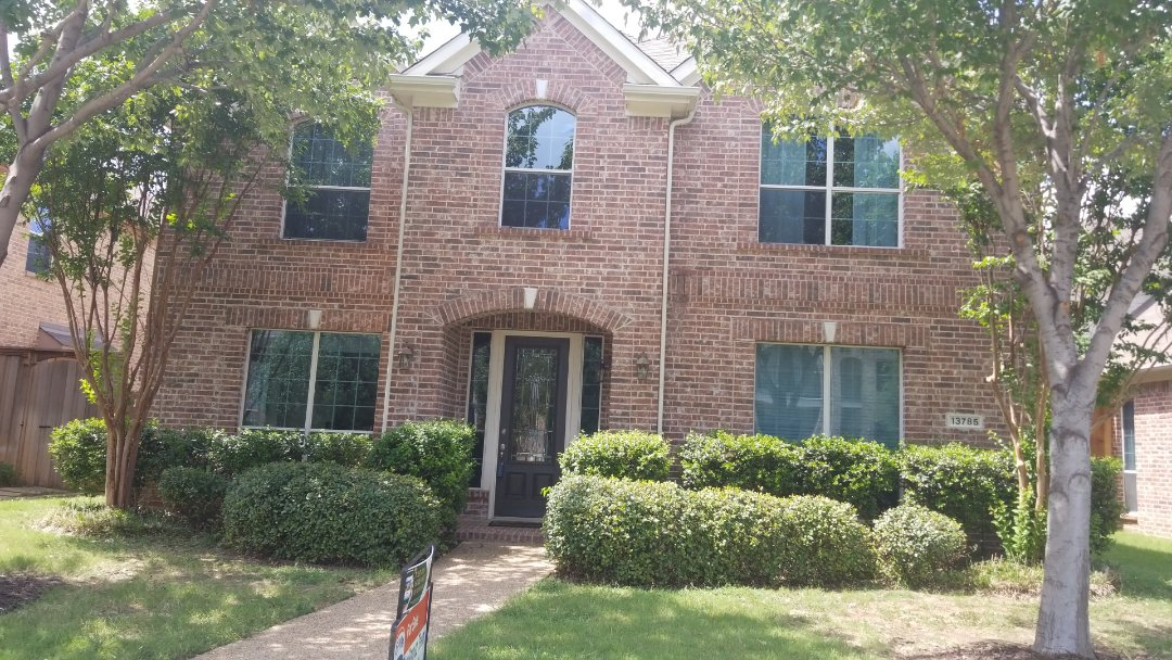 Frisco, TX - Complete roofing replacement. Install GAF natural shadow weathered wood 30 years shingle