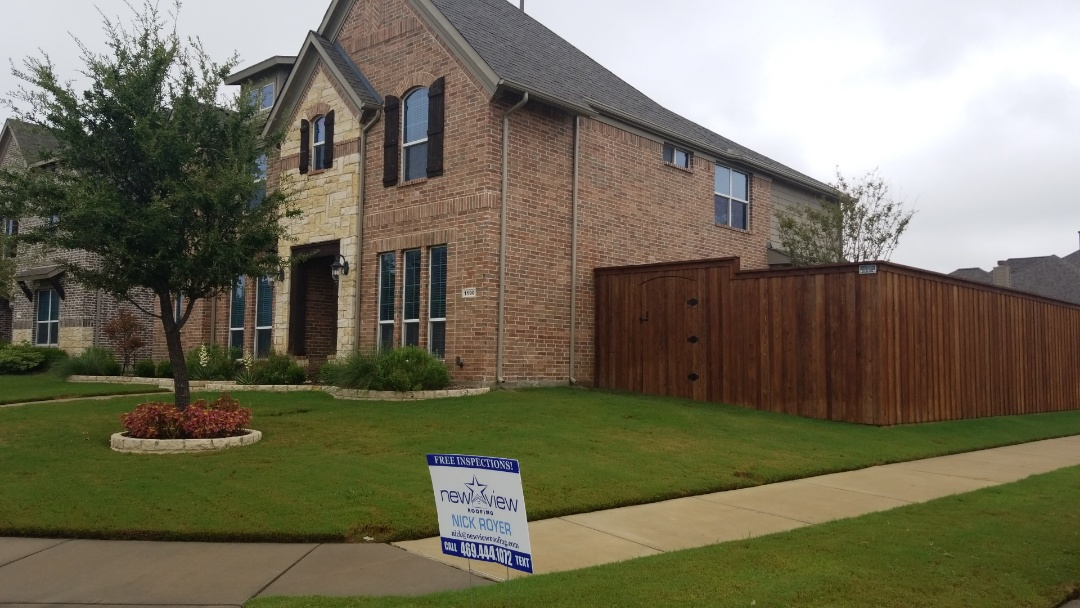 Frisco, TX - Complete roofing  Replacement. I install Owens Corning driftwood 30 year shingle
