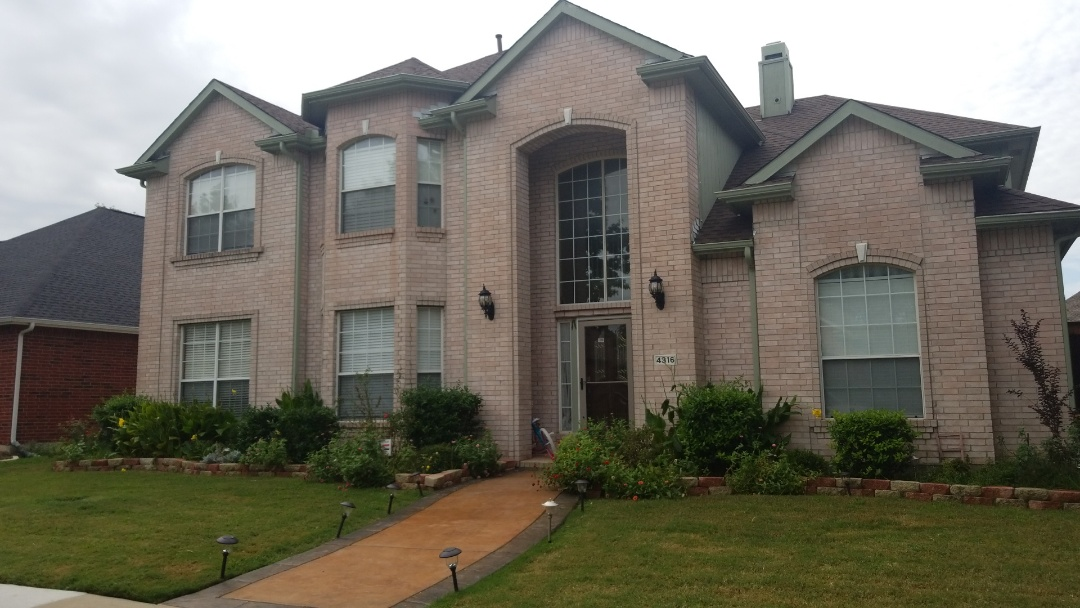 Plano, TX - Complete roofing replacement. Installed GAF timberline HD bark wood 30 years shingle