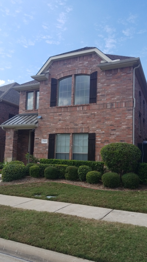 Plano, TX - Complete roofing replacement. Install GAF timberline HD bark wood 30 year shingle