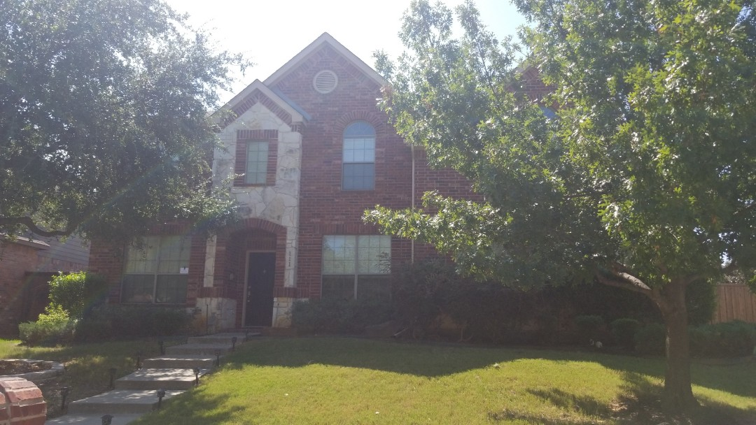 Lake Dallas, TX - Complete roofing replacement. Install GAF timberline HD weathered wood shingle 30 year