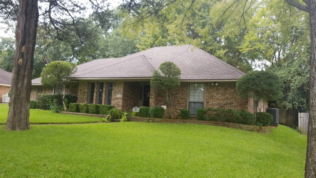 Tyler, TX - Complete roofing replacement. Installed Owens Corning 30 year single