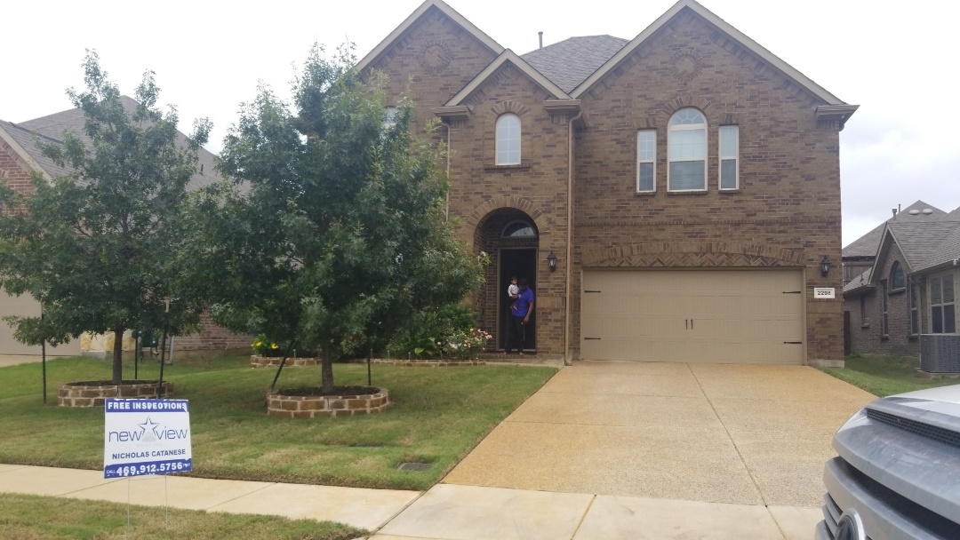 Lewisville, TX - Complete roofing replacement. Installed gaf tim hd weathered wood 30 yr shingle