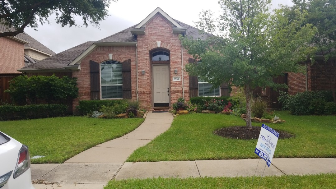 Frisco, TX - Complete roofing replacement. Installed gaf timberline HD weathered wood shingle 30 yr