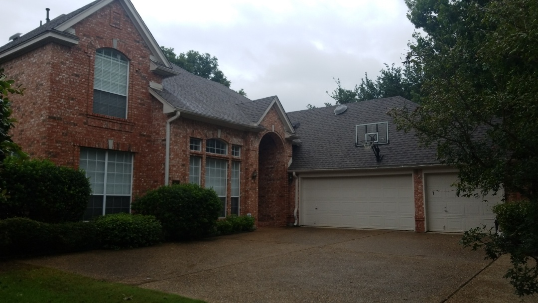 Coppell, TX - Complete roofing replacement. Install GAF timberline HD weathered wood shingle 30 year warranty