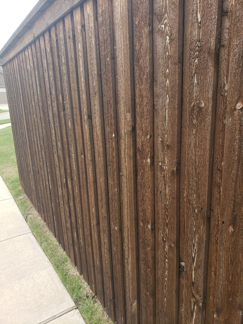 McKinney, TX - Still alot more damaged fences  due to hail damage. Call us for help.