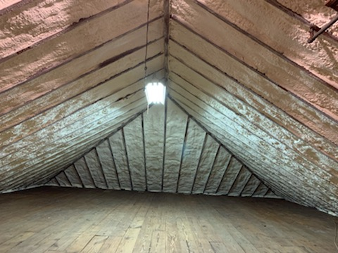 White Plains, NY - Insulate Attic with Lapolla Closed Cell Spray Foam