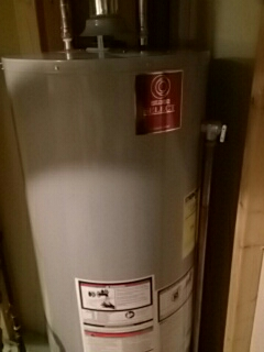 New 50 gallon State water heater
