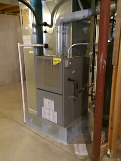 Oswego, IL - Furnace repair.