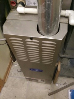 Furnace clean and check.