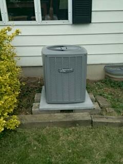 Newark, IL - Air conditioning installation