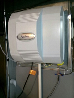 Yorkville, IL - Aprilaire humidifier