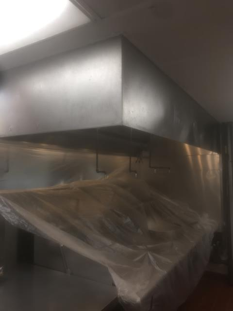 Providing kitchen exhaust cleaning in Washington, NC at Dragon Garden.