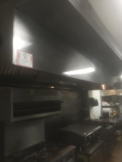 Greenville, NC - Kitchen Exhaust Cleaning in Greenville, NC at Mi Cabana #7.