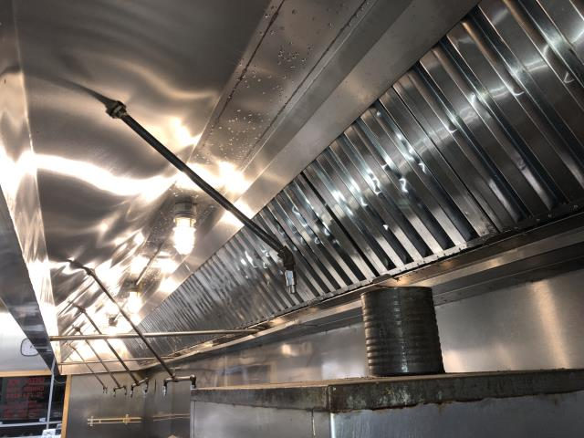 Greenville, NC - Restaurant kitchen exhaust cleaning in Greenville, NC at Speedy Wok.
