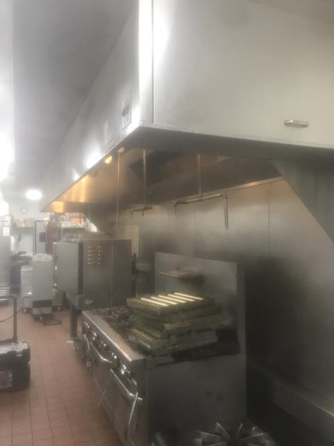 Restaurant hood cleaning in Cary, NC at Nazara Indian Bistro.