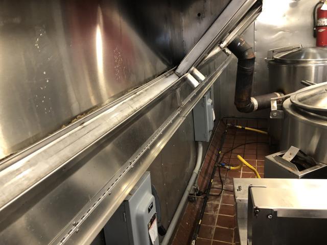 Hood Exhaust Cleaning in Wilson NC at Restaurant Bill Ellis Bbq?