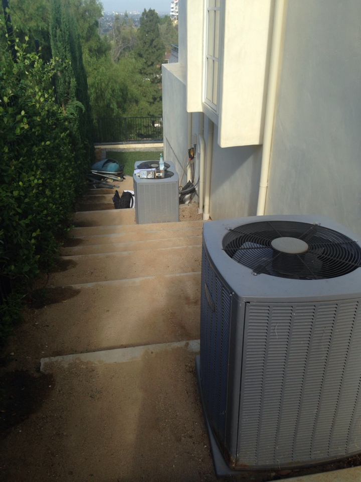 North Tustin, CA - Maintenance on our install we did 5 years ago