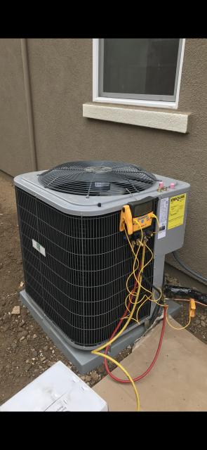 Morgan Hill, CA - Installing an AC cooling system in Morgan hill.