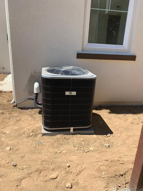 Morgan Hill, CA - Installing a high efficient heating and ac system on a residential home in Morgan Hill.