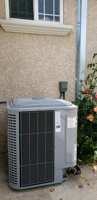 Sunnyvale, CA - Installing a modulating furnace and variable speed condenser for a complete communicating heating and ac system on a residential home in Sunnyvale.
