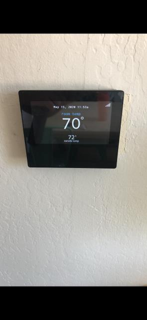Sunnyvale, CA - Finishing the installation of a modulating furnace and variable speed condenser with an Ion smart thermostat, for a communicating heating and ac system on a residential home in Sunnyvale.