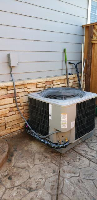 Morgan Hill, CA - Installed a new high efficient heating and ac system for a family needing a changeout once their old system broke in Morgan Hill.