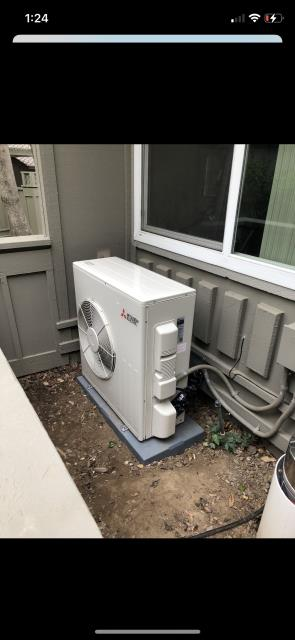 Los Gatos, CA - Installing Mitsubishi Heat Pump System in Los Gatos
