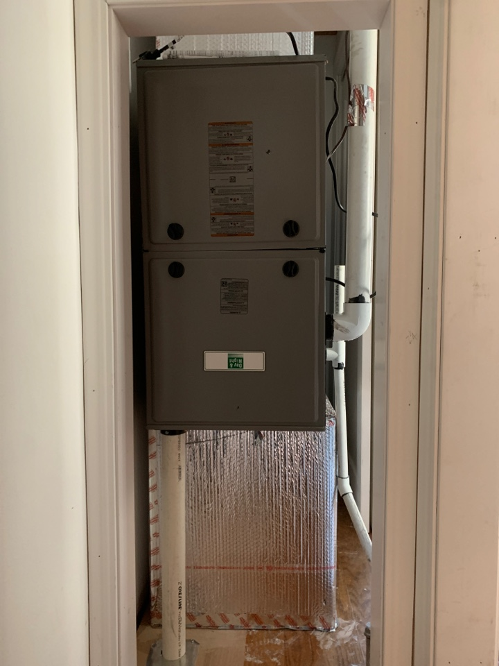 Redwood City, CA - New furnace installed in Redwood City