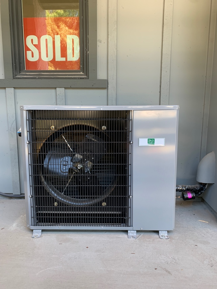 Installing a new air conditioning unit in Mountain View