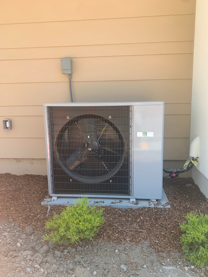 Installing a new a/c system in Mountain View