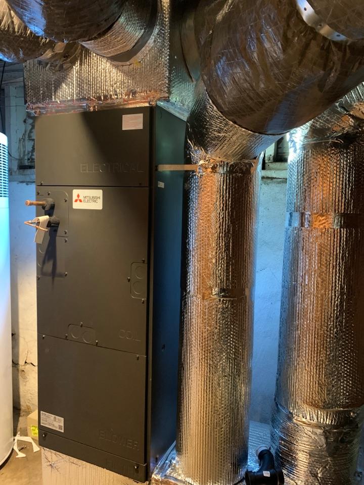 Morgan Hill, CA - Installing a new furnace in Morgan hill.