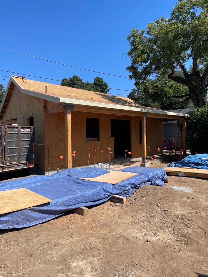 Los Gatos, CA - Installing a high efficient heat pump system in Los Gatos.