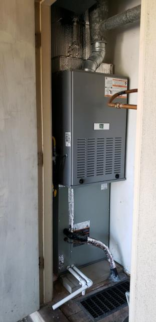 Installation of Day and Night Air Conditioning system.