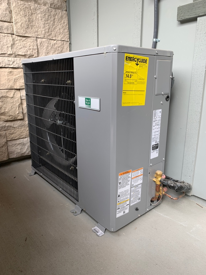 Installing a new A/C unit in Mountain View