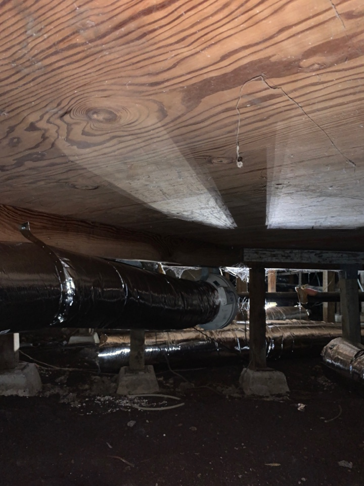 Running new exhaust ducts in Gilroy