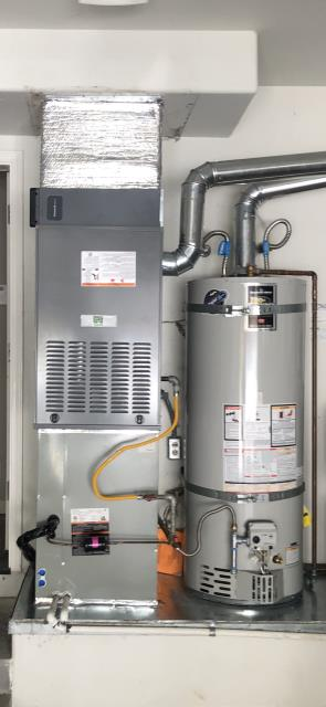 Upgrade of Day & Night 5 Ton and 2 Ton Furnace & Condenser