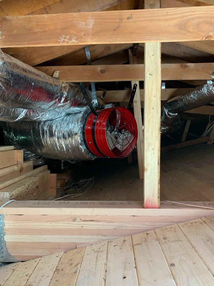 Installing a whole house fan in Morgan hill
