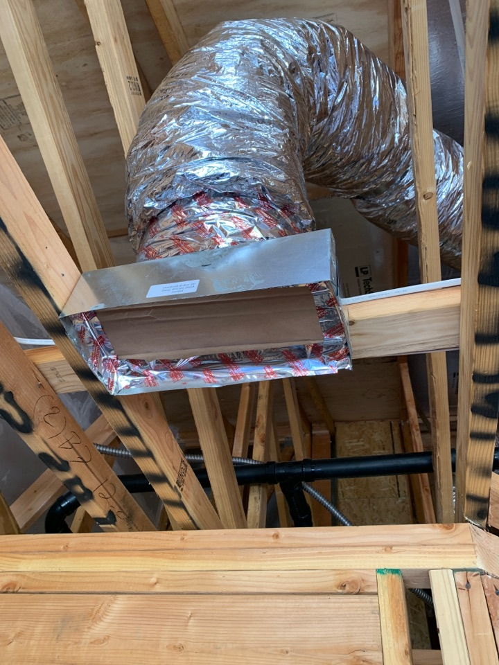 New duct install in Mountain View