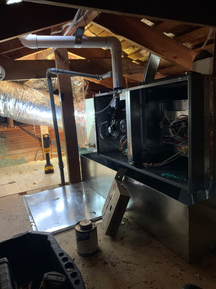 New furnace installed in Morgan Hill