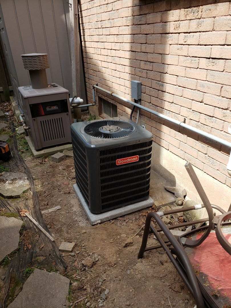 Burlington, ON - Installed new AC coil and condenser.