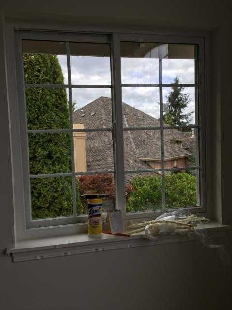 Covington, WA - We love Colonial Grilles! Especially when on a custom Renewal by Andersen Gliding Window.