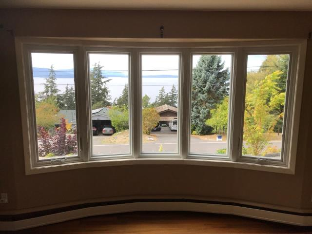 Camano Island, WA - This amazing Bay Window Unit was installed by a true Master Craftsman.