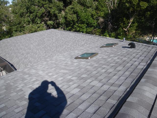 Winter Park, FL - Storm damaged . Insurance claim settled . GAF Timberline . New Low E skylights with dual pane glass . Ask Jeff about working with your insurance company .