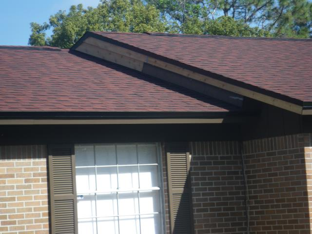 Longwood, FL - Storm damaged settled by the insurance company .IKO Rivera Red -Black drip . Looks awesome